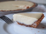 Delicately tart key lime pie.